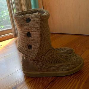 Tan Classic Cardy Boot Ugg